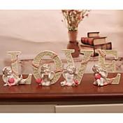 Boda Cumpleaños Pedida San Valentín Nochevieja Resina Decoraciones de la boda Tema Jardín Tema Clásico Tema Fantástico Primavera Verano