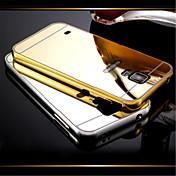 Etui Til Samsung Galaxy Samsung Galaxy Etui Belegg Speil Bakdeksel Helfarge PC til S5