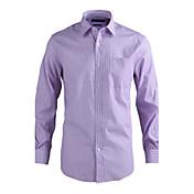 JamesEarl 남성 셔츠 카라 긴 소매 셔츠 & 블라우스 레드 - MC1ZC001233
