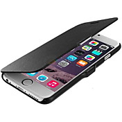 Funda Para Apple iPhone 6 iPhone 6 Plus Flip Congelada Funda de Cuerpo Entero Color sólido Dura piel genuina para iPhone 6s Plus iPhone