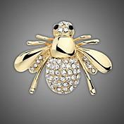Mujer Broche - Brillante, Chapado en Oro Elegante, Moda Broche Plata / Dorado Para Boda / Fiesta / Uso Diario