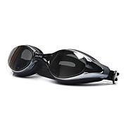 Gafas de natación Anti vaho Tamaño Ajustable Anti-UV Lente polarizado Impermeable Gel de sílice PC Blanco Gris Negro Transparentes Rosa