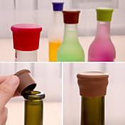 godteri farge silikon flaske stopper fersk øl mat grade kork cruet tilfeldig farge