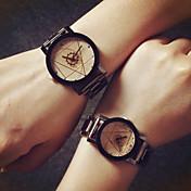 Hombre / Mujer / Pareja Reloj de Moda Gran venta Aleación Banda Encanto Plata / Dorado / Un año / SSUO 377