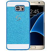 케이스 제품 Samsung Galaxy 패턴 뒷면 커버 글리터 샤인 하드 PC 용 S5 Mini
