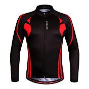 WOSAWE Maillot de Ciclismo Mujer Unisex Manga Larga Bicicleta Sudadera Camiseta/Maillot Tops Secado rápido Diseño Anatómico Permeabilidad