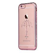 제품 아이폰6플러스 케이스 케이스 커버 뒷면 커버 케이스 소프트 TPU 용 iPhone 6s Plus iPhone 6 Plus