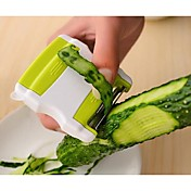 1 stk Apple Gulrot Agurk Skreller & Rivjern For for Frukt for Vegetabilsk Plast Kreativ Kjøkken Gadget Originale