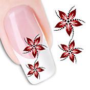 1Pc Pegatinas de uñas 3D Flor / Moda Diario