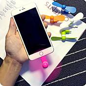 super praktisk supermakten mini mobiltelefon mini vifte for iPhone 5 / 5s / 6 / 6s / 6 pluss / 6s pluss
