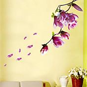 Calcomanías Decorativas de Pared - Calcomanías de Aviones para Pared Paisaje / Florales Sala de estar / Dormitorio / Comedor / Removible