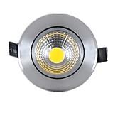 6000-6500 lm 2G11 Innfelt lampe Roterbar 1 leds COB Mulighet for demping Varm hvit Kjølig hvit AC 220-240V