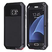 Etui Til Samsung Galaxy Samsung Galaxy Etui Vannavvisende Støtsikker Heldekkende etui Dyr Hard Metall til S8 Plus S8 S7 edge S7 S6 edge