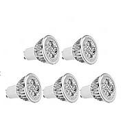 4W 350 lm GU10 Focos LED MR16 1 leds Blanco Cálido AC85-265