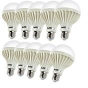 YouOKLight 450 lm E26/E27 Bombillas LED de Globo B 9 leds SMD 5630 Decorativa Blanco Cálido AC 220-240V