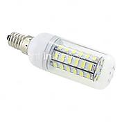 10W 1000 lm E14 G9 E26/E27 B22 LED-kornpærer T 48 leds SMD 5730 Varm hvit Kjølig hvit AC 220-240V