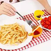 cocina salsa de ensalada de mermelada de tomate dip clip de cuenco taza platillo vajilla (color al azar)