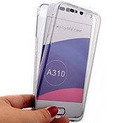 용 삼성 갤럭시 케이스 투명 케이스 풀 바디 케이스 단색 TPU Samsung A7(2016) / A5(2016) / A3(2016)