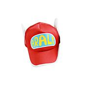 모자/ 캡 에서 영감을 받다 드레곤볼 Arale 에니메이션 코스프레 악세서리 모자 레드 / 옐로 폴리에스터 여성