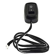 jtron automotive enkel switch / tosidige selvklebende / tykke linjer - svart