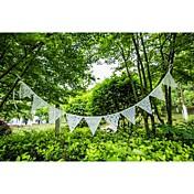 Boda / Aniversario / Pedida Tela de Encaje Decoraciones de la boda Tema Playa / Tema Jardín / Tema Floral Primavera / Verano / Otoño