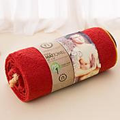 Frisk stil yoga Håndkle, Ensfarget Overlegen kvalitet 100% Polyester Håndkle Håndkle
