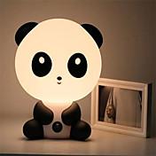 El oso de panda de la historieta animal noche luz de la habitación muy linda bebé que duerme la luz lámpara de noche lámpara de escritorio