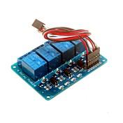 4-canal del módulo relé de 5V con el acoplador óptico DSP AVR brazo pic para Arduino