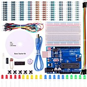 uno prosjektet enkel startpakke med opplæringen og uno r3 for Arduino