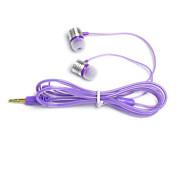HL02 En el oido Con Cable Auriculares Dinámica Aluminum Alloy Teléfono Móvil Auricular Auriculares