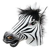 máscara de Halloween de la diversión de cabeza / divertidas del partido interesante caballo de látex realista de la mascarada de silicona