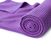 Yogahåndkle Lugtfri, Økovennlig, Non-Slip Microfiber 180.0*60.0*0.5 cm Til Yoga & Danse Sko / Pilates / Bikram Lilla, Grønn, Blå Med