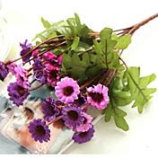 1 Gren Silke Kurvplante Bordblomst Kunstige blomster