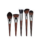 5 Sistemas de cepillo / Cepillo para Colorete / Cepillo Corrector / Cepillo para Polvos / Cepillo para Base / Contour BrushPincel de