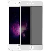 Skjermbeskytter Apple til iPhone 6s iPhone 6s / 6 iPhone 6 Herdet Glass 1 stk Skjermbeskyttelse 2,5 D bøyd kant 9H hardhet