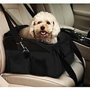 고양이 강아지 캐리어&여행용 배낭 카 시트 커버 애완동물 캐리어 휴대용 폴더 솔리드 블랙 그린 밝은 블루 카키