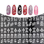 1 3D Nail Stickers Mote Daglig Høy kvalitet