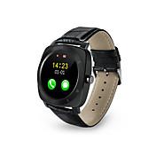 Reloj elegante X3 Podómetros / Calorías Quemadas / Llamadas con Manos Libres / Pantalla Táctil / Distancia de Monitoreo / Control de Mensajes / Control de Cámara Temporizador / Recordatorio de