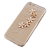 la margarita con el caso trasero duro del patrón de perforación para el iPhone 6 Plus