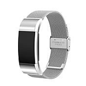 Klokkerem til Fitbit Charge 2 Fitbit Milanesisk rem Rustfritt stål Håndleddsrem