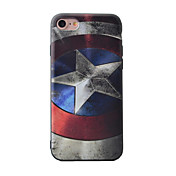 Para iPhone 8 iPhone 8 Plus iPhone 7 iPhone 7 Plus iPhone 6 Carcasa Funda Diseños Cubierta Trasera Funda Caricatura Suave TPU para Apple