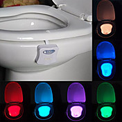 youoklight 1pc love toilet light cambio de color aa baterías control de luz con cambio de color <5V LED Light>