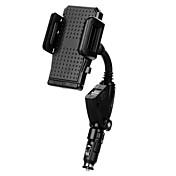 Coche Universal Teléfono Móvil sostenedor del soporte de montaje Soporte Con Adaptador Soporte Ajustable Universal Teléfono Móvil El