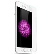 Protector de pantalla Apple para iPhone 7 Plus Vidrio Templado 1 pieza Protector de Pantalla Frontal Borde Curvado 2.5D Dureza 9H