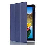 Funda Para Asus Funda de Cuerpo Entero Casos Tablet Color sólido Dura Cuero de PU para