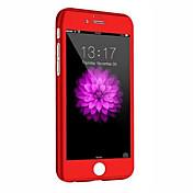 Etui Til Apple iPhone 8 / iPhone 8 Plus / iPhone 6 Plus Støtsikker Heldekkende etui Rustning Hard PC til iPhone 8 Plus / iPhone 8 / iPhone 6s Plus