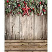 Navidad fondo de la fotografía del estudio telones de fondo 5x7ft