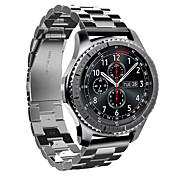 acero inoxidable hoco la sustitución del metal pulsera de la correa de reloj inteligente para samsung s3 engranajes frontera samsung s3