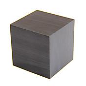 raylinedo® último diseño de moda cubo de madera negro Mini led rojo indicador de fecha temperatura despertador digital de madera -tiempo -