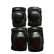 GXT G06 4 piezas / protector de codo moto motocicleta motocross engranaje protección de la rodilla de la motocicleta de motocross corto